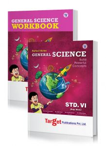 Std 6 Perfect Science notes and workbook combo of 2