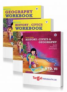 Std 6 History amd Geography notes and workbook combo of 3