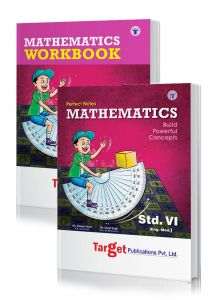 Std 6 Perfect Maths Notes and Workbook combo of 2