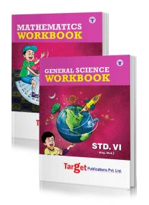 Std 6 Perfect Maths and Science Workbooks. English Medium. Maharashtra State Board