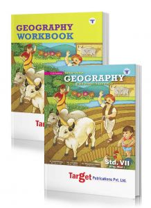 Std 7 Perfect Geography notes and workbook combo of 2