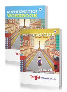 Std 7 Perfect Maths notes and workbook combo of 2