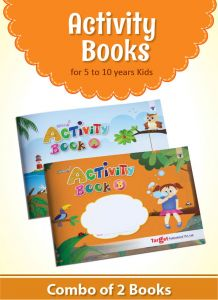Nurture Activity Books for Kids in English