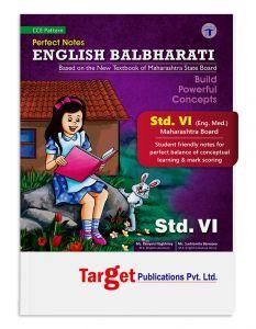 Std 6 Perfect Notes English Balbharati Book