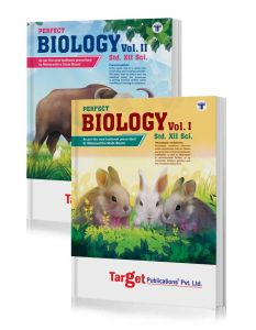 Std 12 Biology Books Vol 1 and 2 | HSC Science Maharashtra Board | Perfect Series