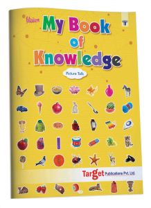 Blossom My Book of Knowledge in English - Picture Talk for Nursery Kids