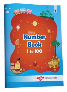 lossom Number Writing Book for Kids 1 to 100