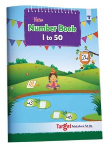 Blossom Number Writing Book for Kids 1 to 50