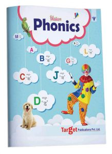 Blossom English Alphabet Phonics Book for Kids and Babies