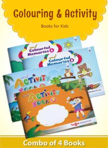 Nurture Colouring and Activity Books for Kids in English