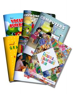 Learning Books for English Vocabulary, Grammar, Computer, EVS, Hindi Language and Festivals of India for Kids