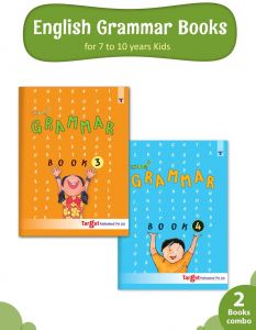 Nurture English Grammar and Composition Books for Kids | 7 to 10 Year Old | Practice Exercises with Colourful Pictures for Primary Children | Book 3 and 4 - Set of 2 Books