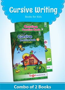 Nurture English Cursive Alphabet Practice Books for Kids