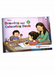 Blossom Drawing and Colouring book level 3