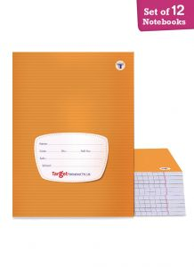 Target small single line notebook 76 pages combo of 12