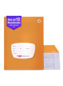 Target big square small notebook 172 pages combo of 12