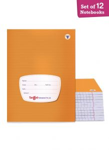 Target small single line notebook 172 pages combo of 12
