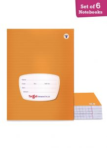 Target small single line notebook 172 pages combo of 6