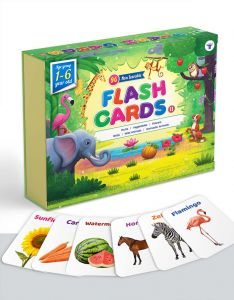 Flash Cards for Kids | 96 Non Tearable and Water Resistant Cards | 1 - 6 Year