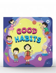 Nurture Good Habits Book for Kids in English