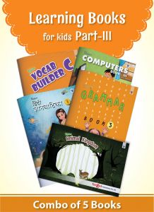 Learning Books for English Vocabulary, Grammar, Computer, Hindi Language and Animal Encyclopedia for Kids
