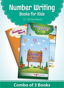Number Writing Books for Kids 1 to 20