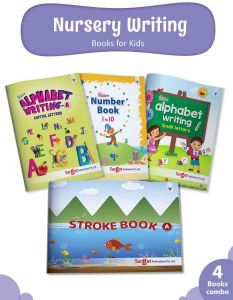 Nursery Writing Books combo of 4