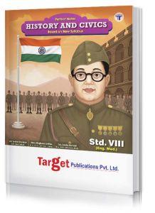 Std 8 Notes History and Civics Book. English Medium. Maharashtra State Board