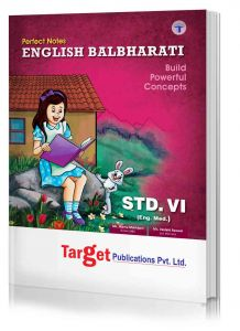 Std 6 Perfect Notes English Balbharati Book