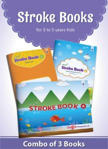 Nurture Pattern Writing and Stroke Books for Kids | 2 to 5 Year Old | Practice Standing and Sleeping Lines, Curves and ABCD Alphabet Tracing for Preschool and Nursery Children | Includes Colourful Pictures and Activities | Set of 3 Books