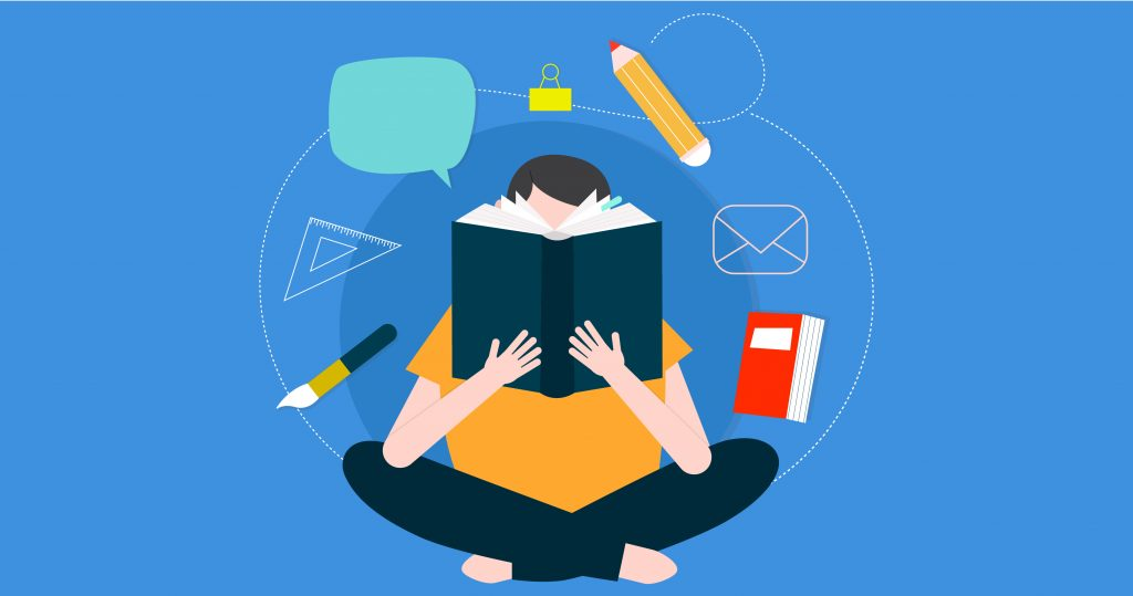 How do books help in gaining insight of the topics