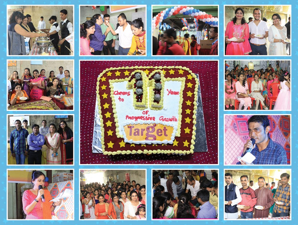 Glimpses of Target Day Celebrations on 2nd October 2017