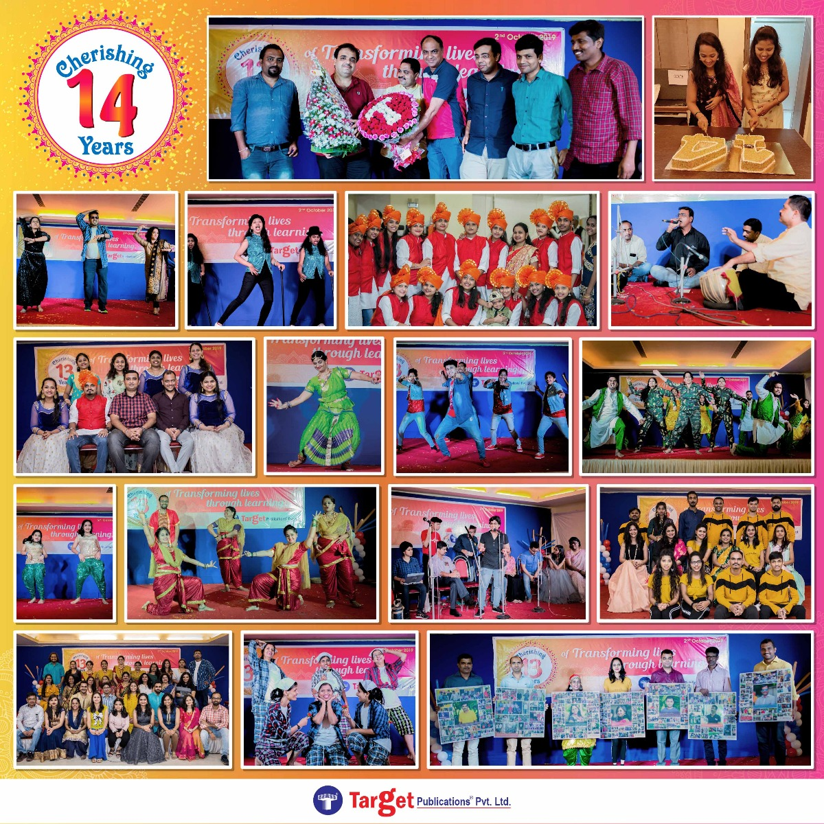 Glimpses of Target Day Celebrations on 2nd October 2019/2020